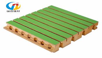 奥松板木质吸音板,防火吸音板,槽条吸音板